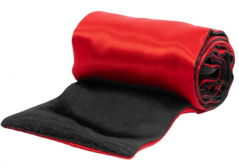 Черно-красная атласная лента для связывания - 1,4 м. - фото 1285871