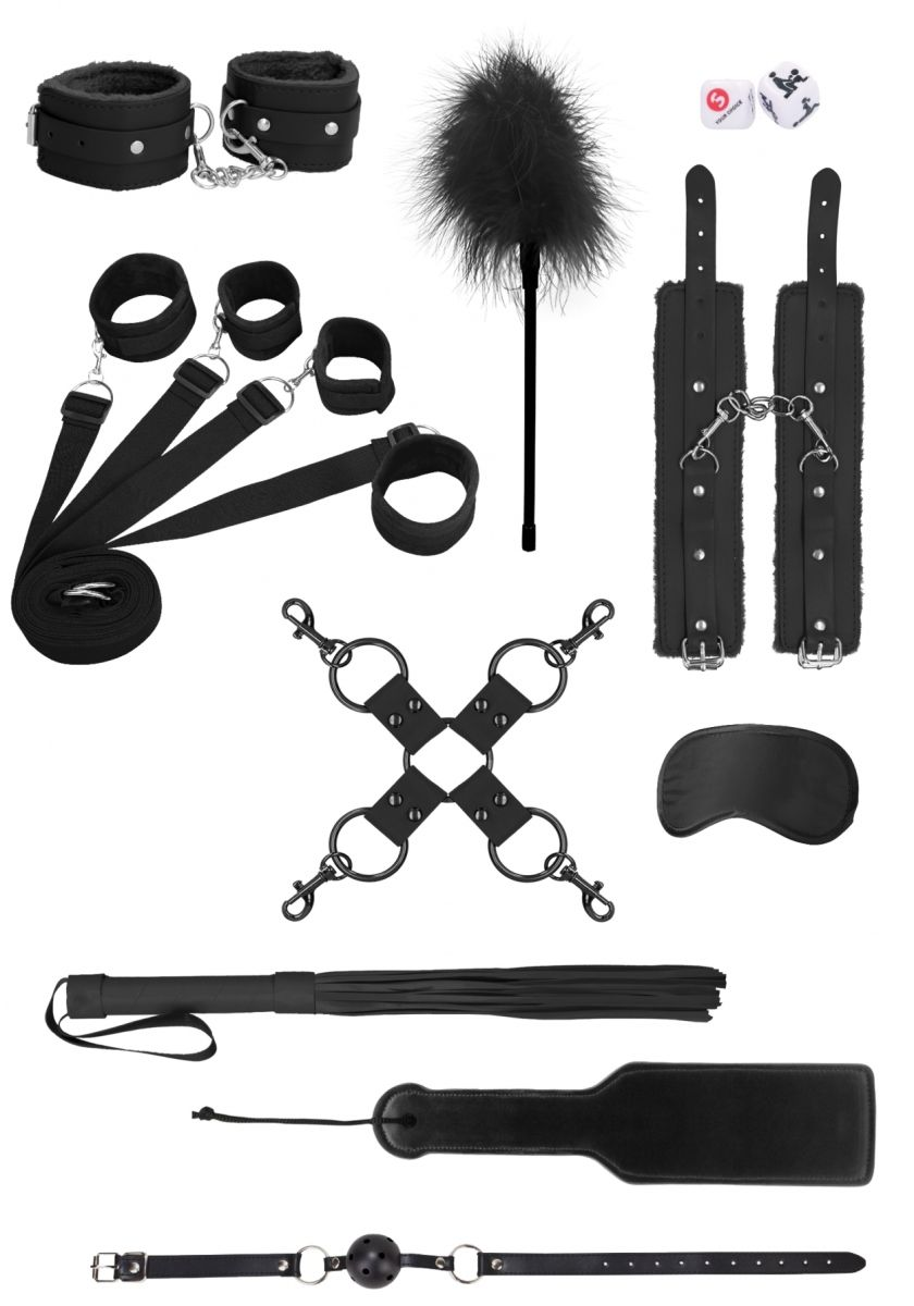 Черный игровой набор Supreme Under The Bed Bindings Kit - фото 629959