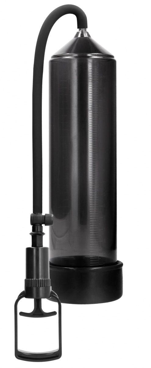 Черная вакуумная помпа с насосом в виде поршня Comfort Beginner Pump