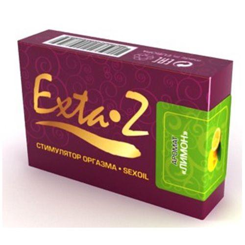 Стимулятор оргазма EXTA-Z  Лимон  - 1,5 мл. - фото 371237