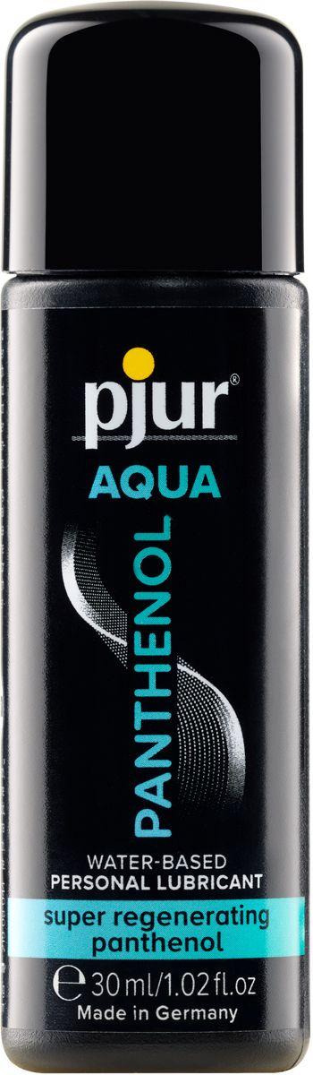 Лубрикант на водной основе с пантенолом pjur AQUA Panthenol - 30 мл. - фото 268143