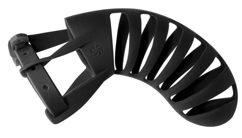 Мужской пояс верности черного цвета Romello - фото 683350