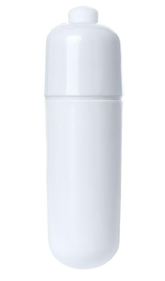 Белая вибропуля  Штучки-Дрючки  - 6 см.