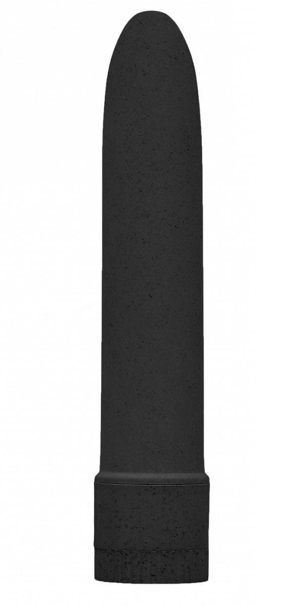 Черный вибратор 5.5  Vibrator Biodegradable - 14 см. - фото 331530