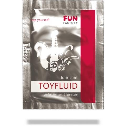 Лубрикант на водной основе Toyfluid - 3 мл. - фото 135025