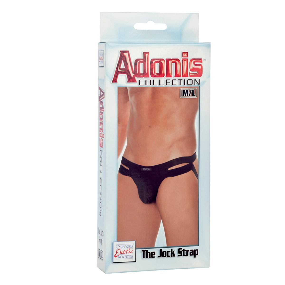 Мужские трусы-джоки Adonis The Jock Strap с открытой попкой - фото 714600