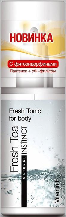 Тоник для тела Natural Instinct Fresh tea - 95 мл. - фото 1275554