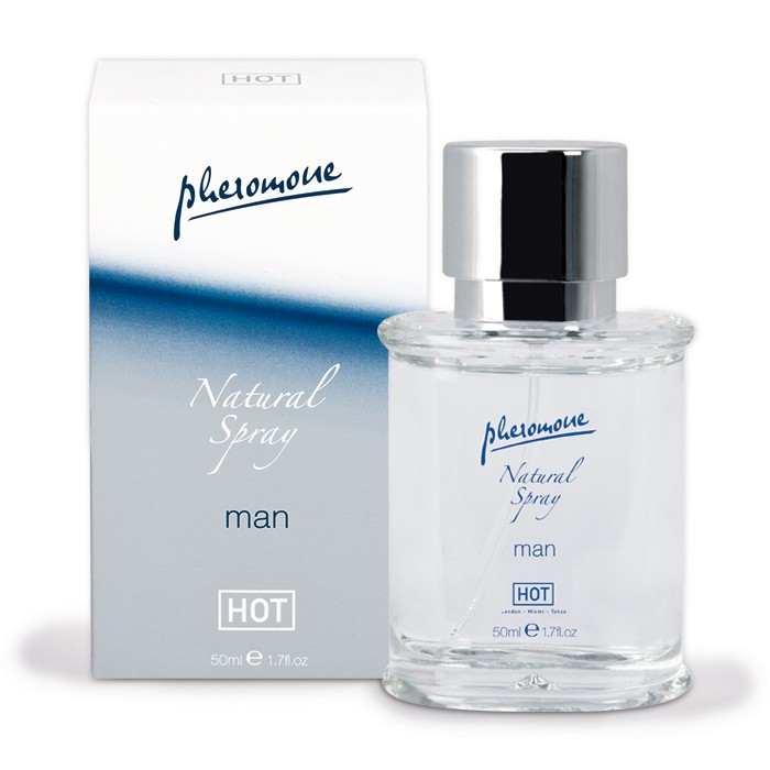 Спрей для мужчин с феромонами Natural Spray - 50 мл. - фото 135897