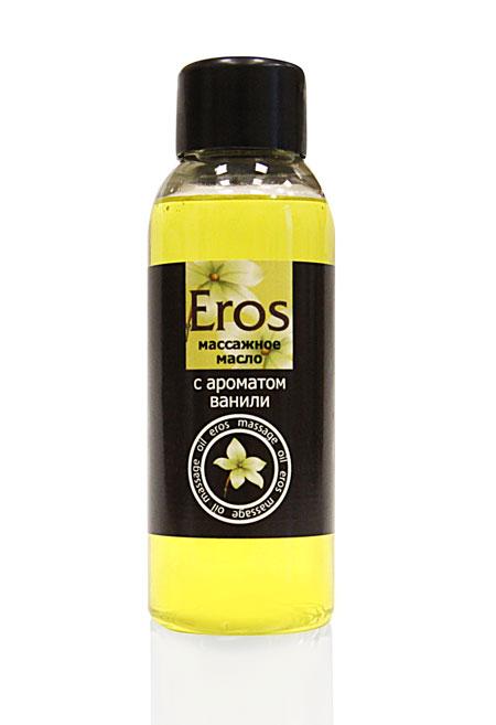 Массажное масло Eros sweet с ароматом ванили - 50 мл. - фото 11556