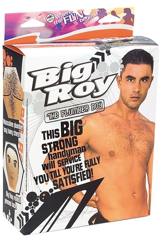 Секс-кукла мужчина Big Roy с фаллосом - фото 136180