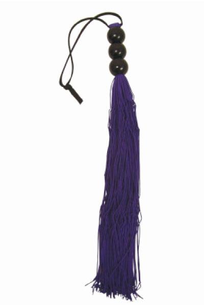 Фиолетовая плетка S M MEDIUM WHIP - 35 см.