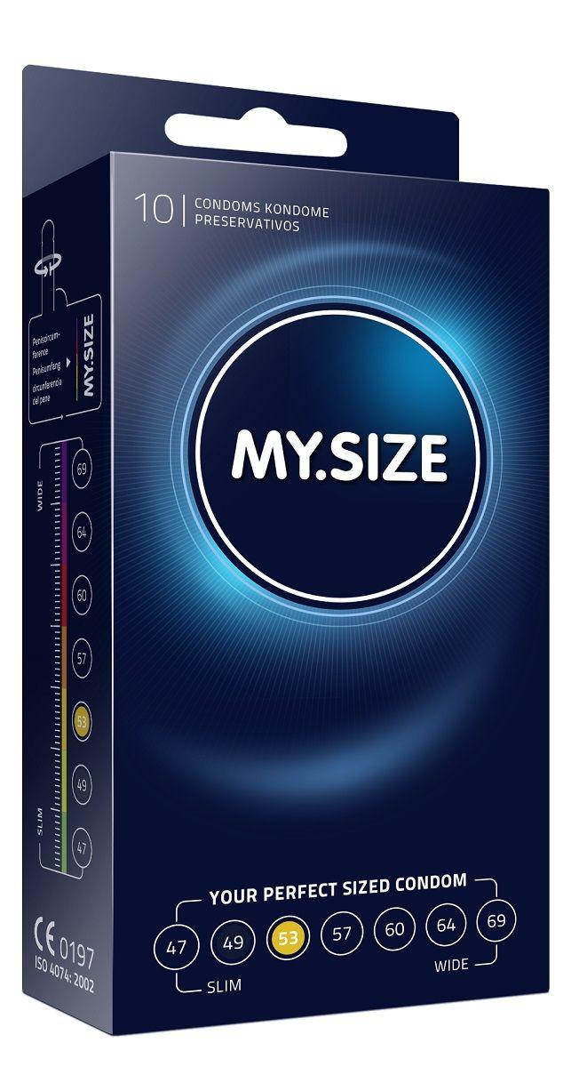 Презервативы MY.SIZE размер 53 - 10 шт. - фото 1652677