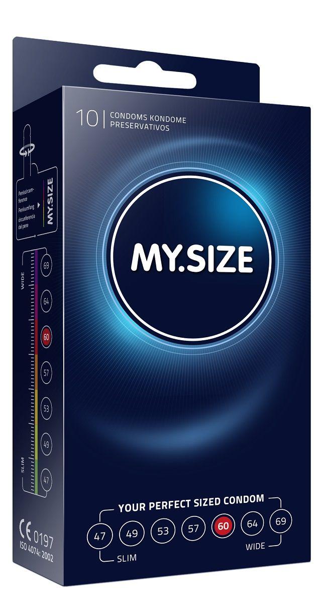 Презервативы MY.SIZE размер 60 - 10 шт. - фото 13967