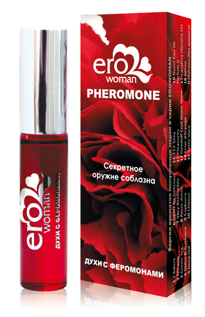 Духи с феромонами для женщин Erowoman №4 - 10 мл. - фото 137026