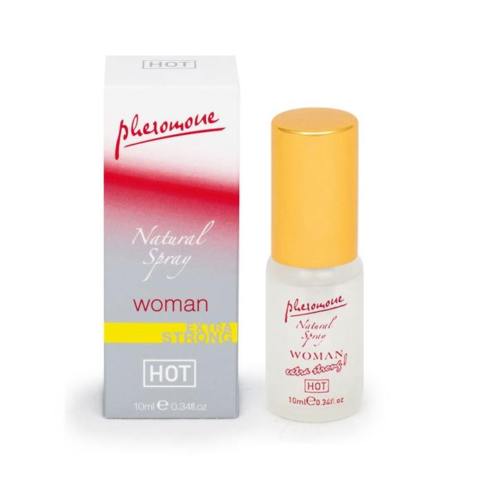 Спрей с феромонами Natural Spray Extra Strong для женщин - 10 мл. - фото 502193