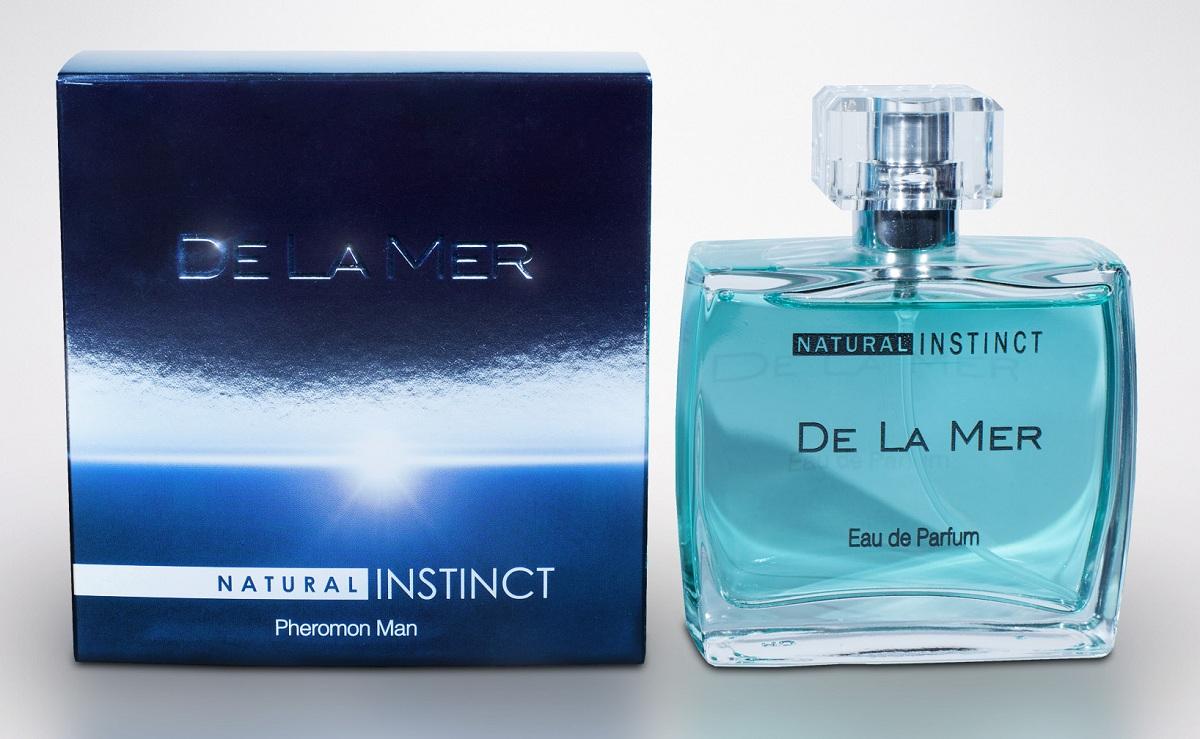 Мужская парфюмерная вода с феромонами Natural Instinct De La Mer - 100 мл. - фото 12540
