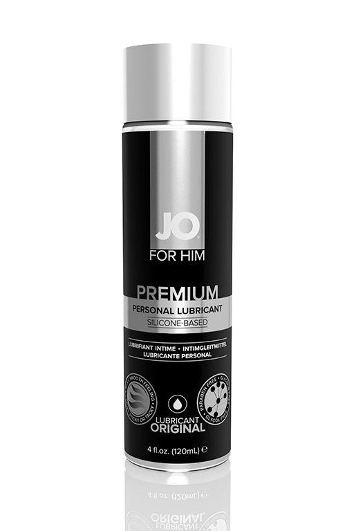 Мужской силиконовый лубрикант JO for Men Premium - 125 мл. - фото 316920