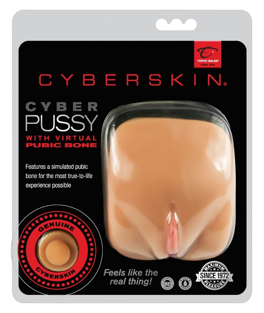 Мастурбатор-вагина CyberSkin Pussy with Virtual Pubic Bone Light - фото 138313
