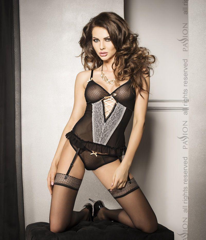 Сексуальный комплект из корсета и трусиков Shirley - фото 531812