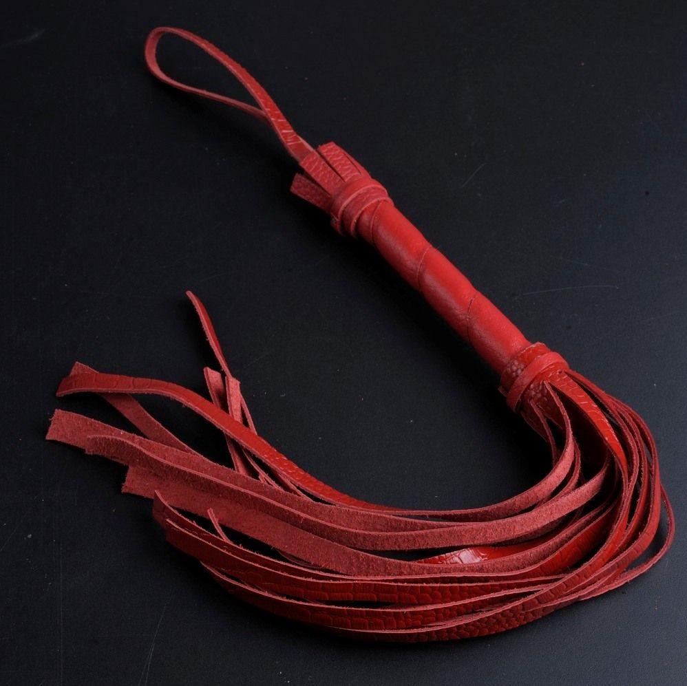 Красная мини-плеть - 40 см. - фото 140482
