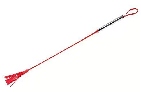 Красный латексный стек с лентами - 62 см. - фото 1655716