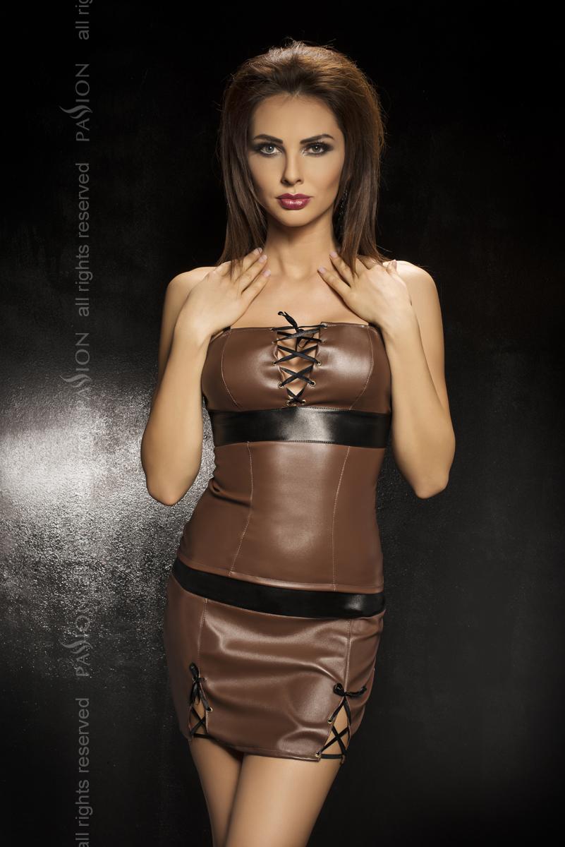 Обтягивающее платье Adeline со шнуровкой  - фото 246288