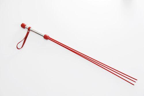 Красный стек в виде розг - 62 см. - фото 140606
