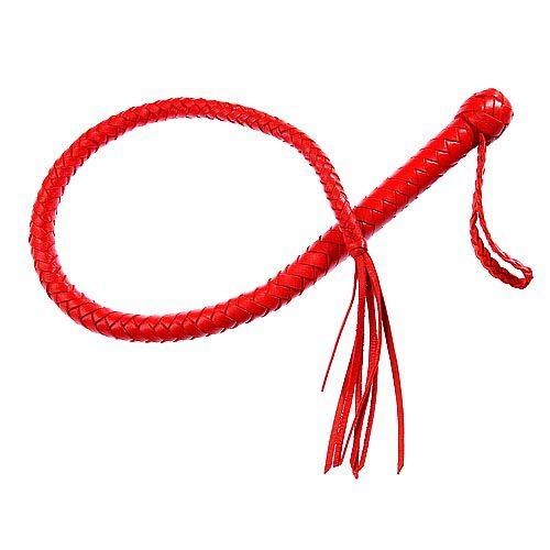 Однохвостная красная плеть - 70 см. - фото 140623