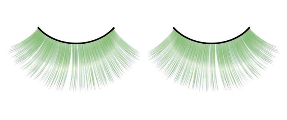 Зеленые пушистые ресницы - фото 531962