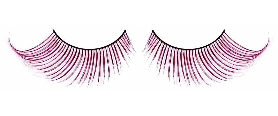 Светло-розовые ресницы-перья - фото 531976