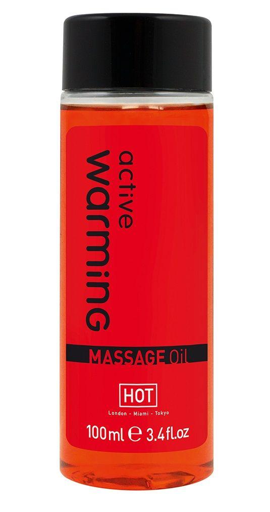 Массажное масло для тела Warming - 100 мл. - фото 140945