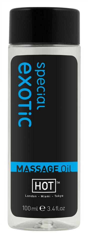 Массажное масло для тела Exotic Special - 100 мл. - фото 140950