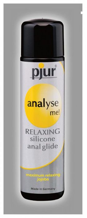 Анальный лубрикант pjur ANALYSE ME glide - 1,5 мл.