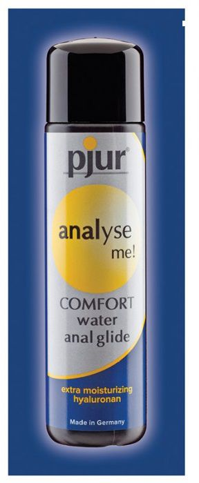 Анальный лубрикант pjur ANALYSE ME Comfort Water Anal Glide - 2 мл. - фото 141074