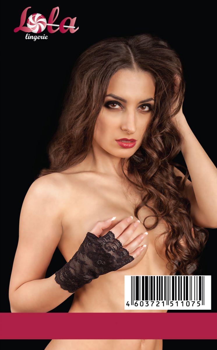 Ажурные перчатки с открытыми пальчиками - фото 141146