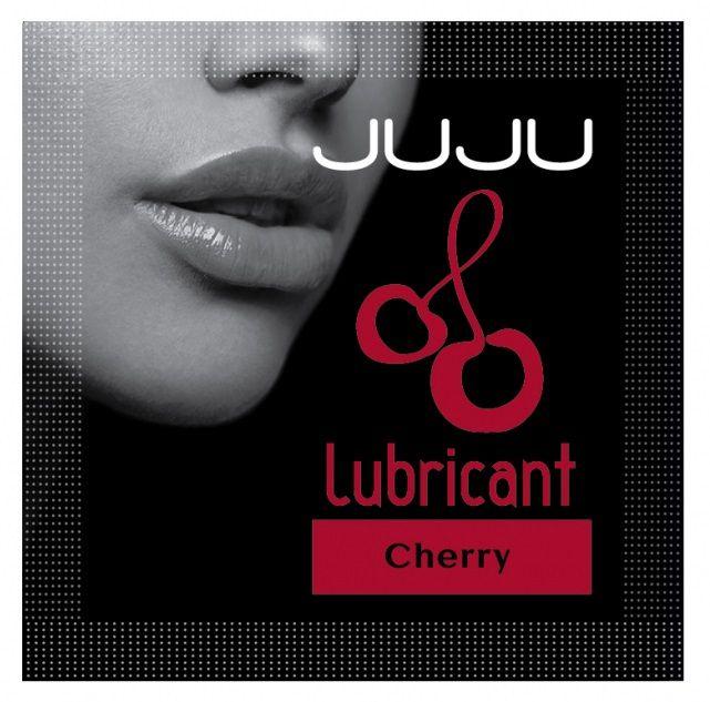 Пробник съедобного лубриканта JUJU с ароматом вишни - 3 мл. - фото 141644
