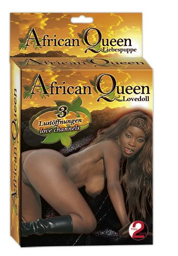 Кукла для любви African Queen