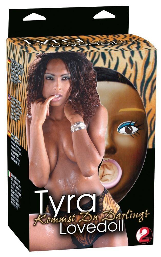 Темнокожая секс-кукла TYRA