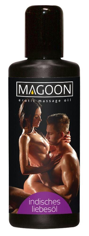 Возбуждающее массажное масло Magoon Indian Love - 200 мл. - фото 142071