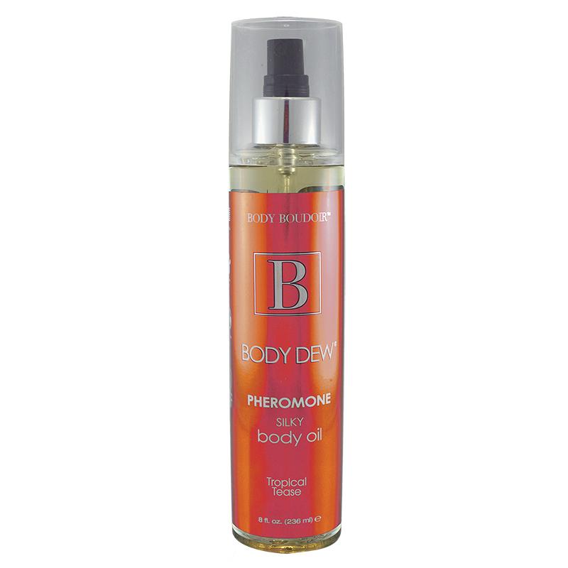 Масло для тела с феромонами Body Boudoir Tropical Tease - 236 мл.
