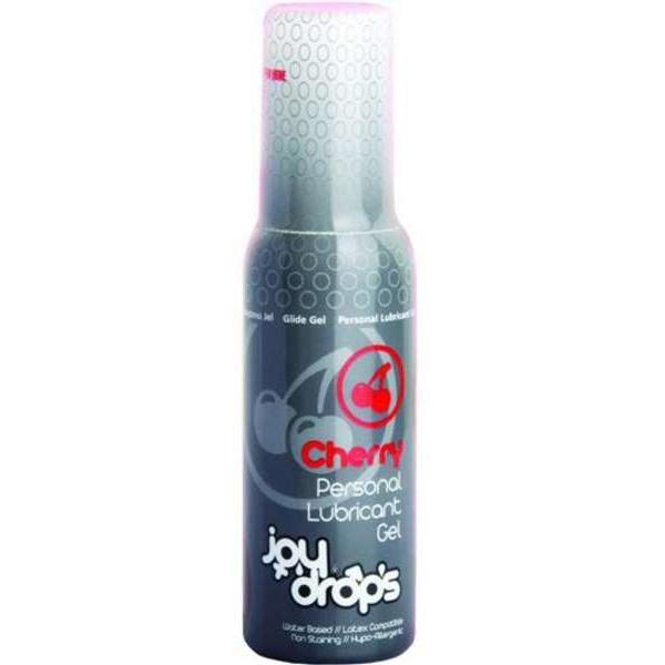 Смазка на водной основе со вкусом вишни JoyDrops Cherry - 100 мл.