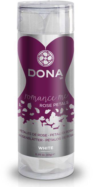 Декоративные белые лепестки роз DONA Rose Petals  - фото 533547
