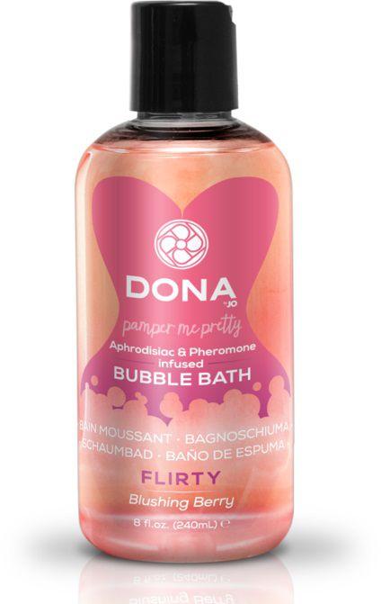 Пена для ванн DONA Flirty Blushing Berry - 240 мл. - фото 142651