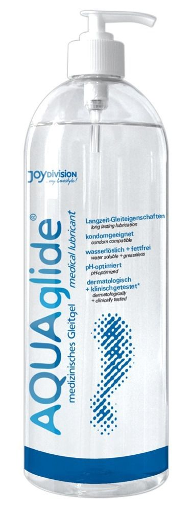 Гель-лубрикант AQUAglide на водной основе - 1000 мл.
