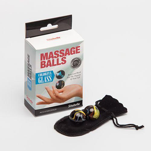 Стеклянные вагинальные массажные шарики - фото 142745