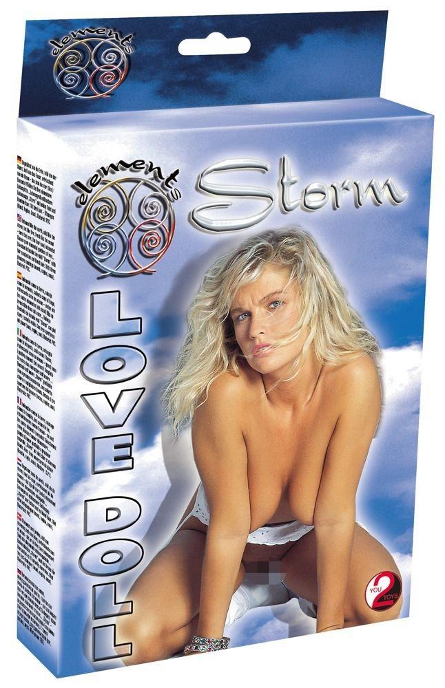 Очаровательная кукла-блондинка Storm