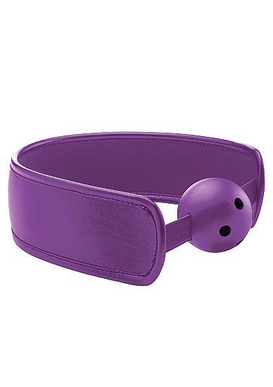 Кляп Brace Balll Purple - фото 143216