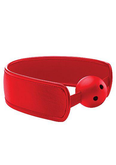 Кляп Brace Balll Red - фото 143218