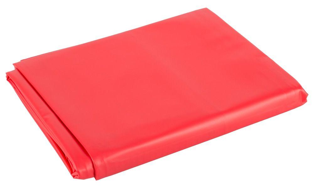 Красная виниловая простынь Vinyl Bed Sheet - фото 128436