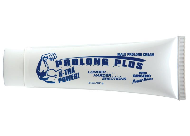 Крем-пролонгатор Prolong Plus with Ginseng Power-Boost - 57 гр. - фото 143419